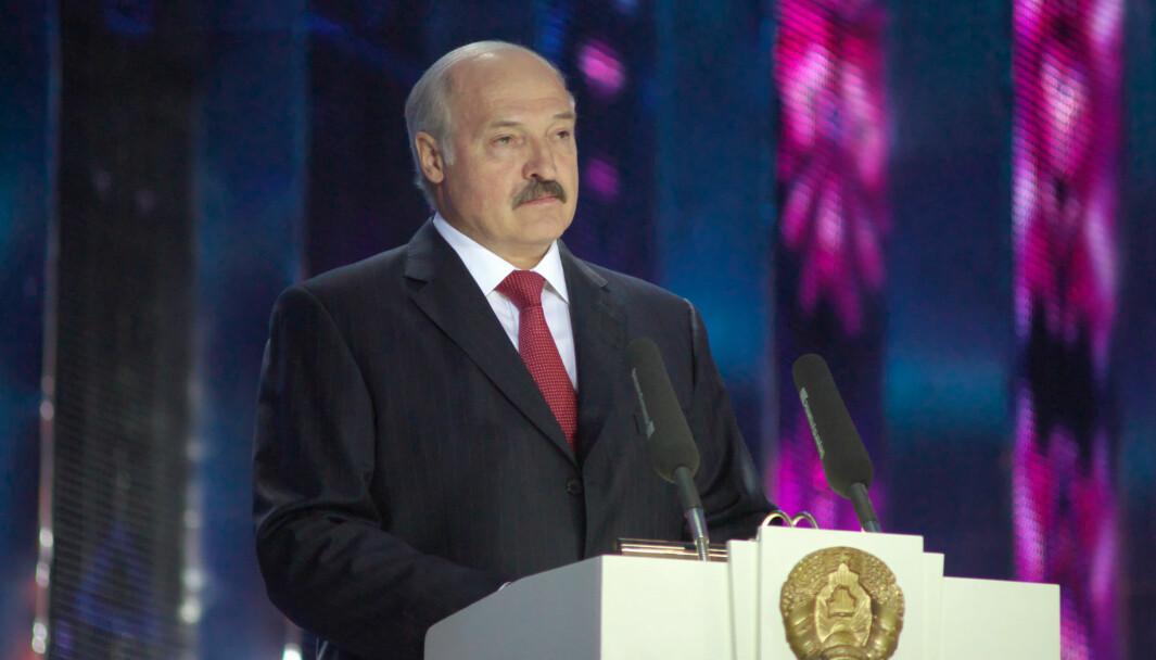 Alexander Lukashenko er president i Hvitrussland.