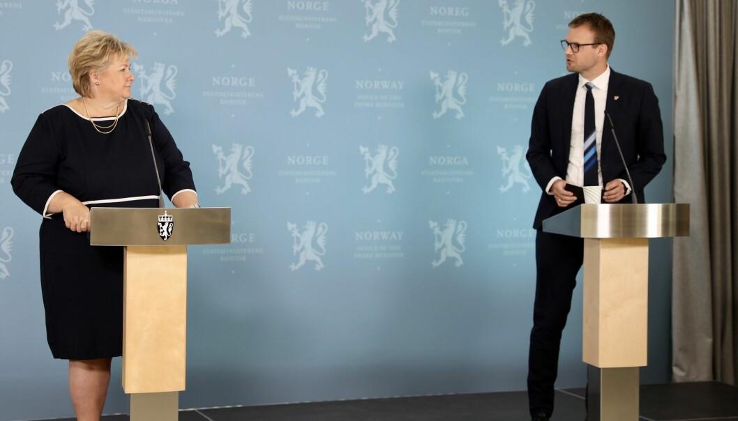 Erna Solberg, Kjell Ingolf Ropstad