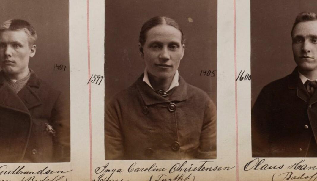 Forbryteralbum fra Kristiania Politikammer 1880-1887