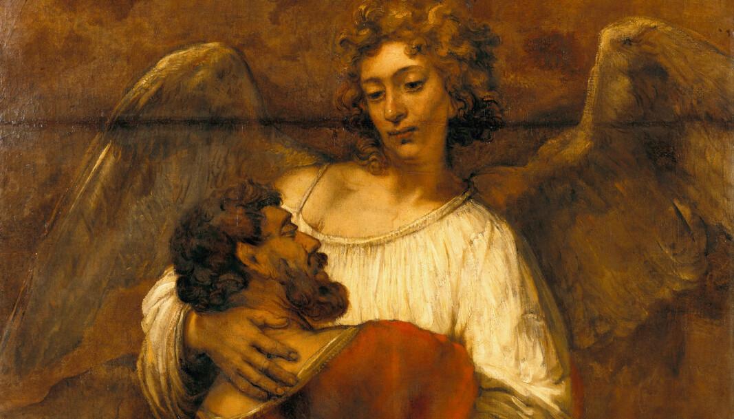 Rembrandt – Jakobs kamp med engelen