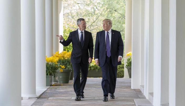 John Bolton skriver om et godt samarbeid med NATOs generalsekretær Jens Stoltenberg.