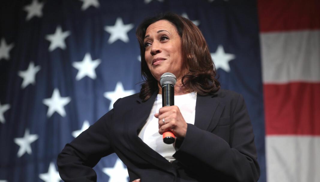 Historisk: Onsdag 20. januar blir Kamala Harris USAs første kvinnelige visepresident.