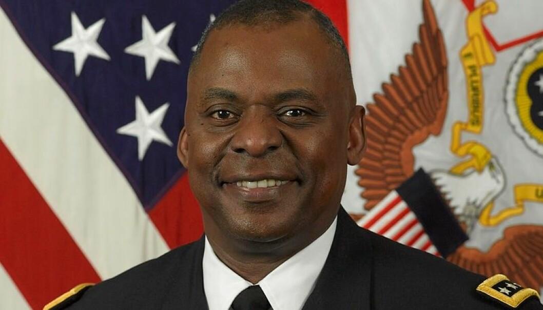 Lloyd Austin blir i dag trolig USAs første svarte forsvarsminister.