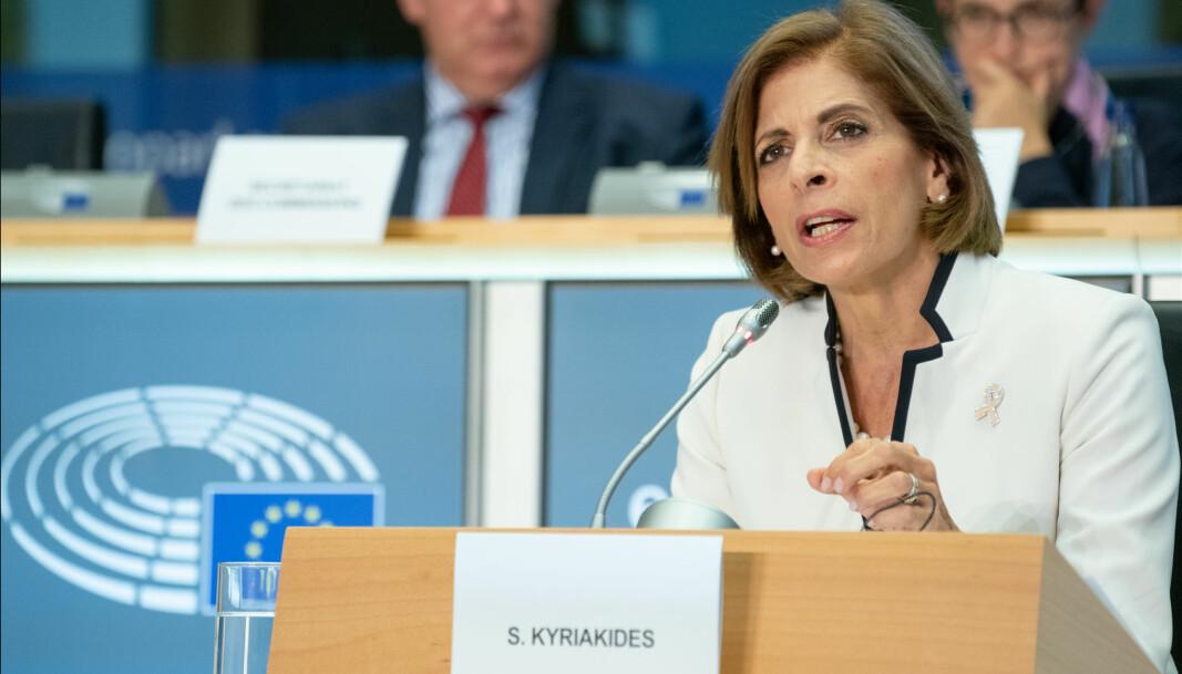 Stella Kyriakides, EU-kommisær for helse- og matsikkerhet