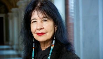 Poet Laureate Joy Harjo.