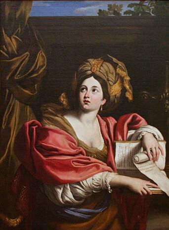 Portrettet av Sibyllen er malt av Doneichino, Pinacoteca Capitolina, Roma.