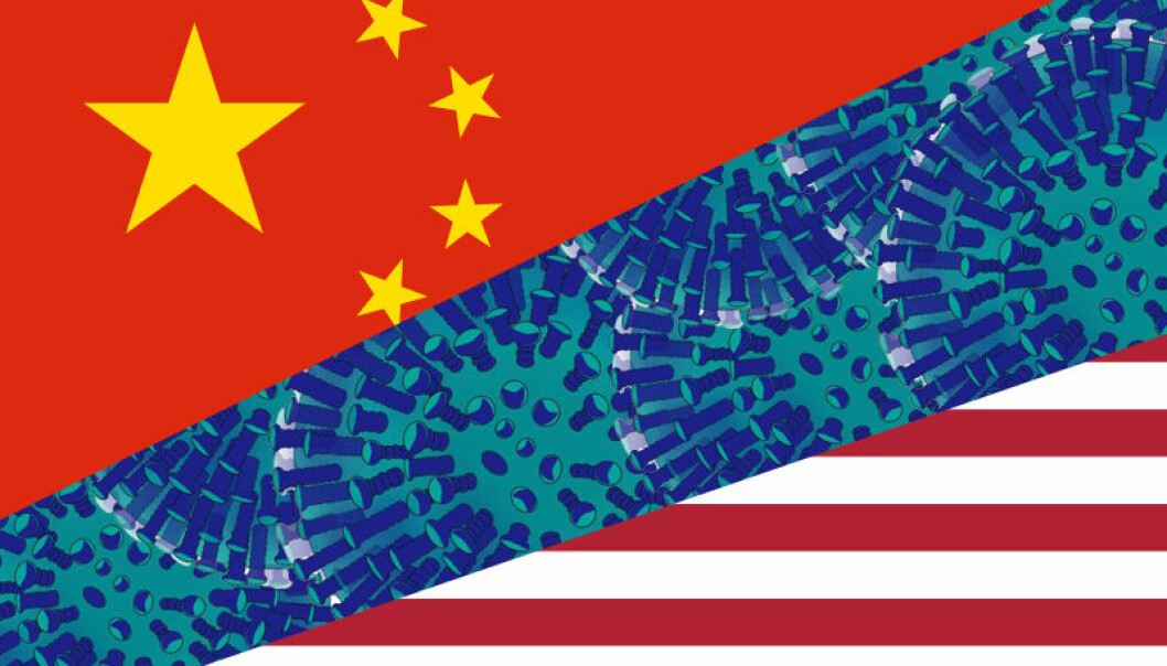 Konflikten mellom Kina og USA om koronavirusets opphav tilspisser seg