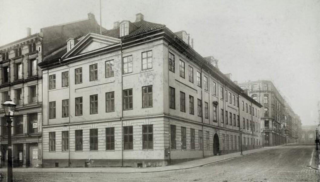 Maribogården, der Coldbjørnsen holdt sine fester.
