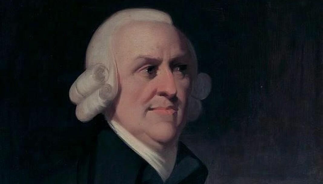 "Adam Smith var ikke bare liberal, men en <span class="" italic"" data-lab-italic_desktop=""italic"">konservativ</span> liberal."