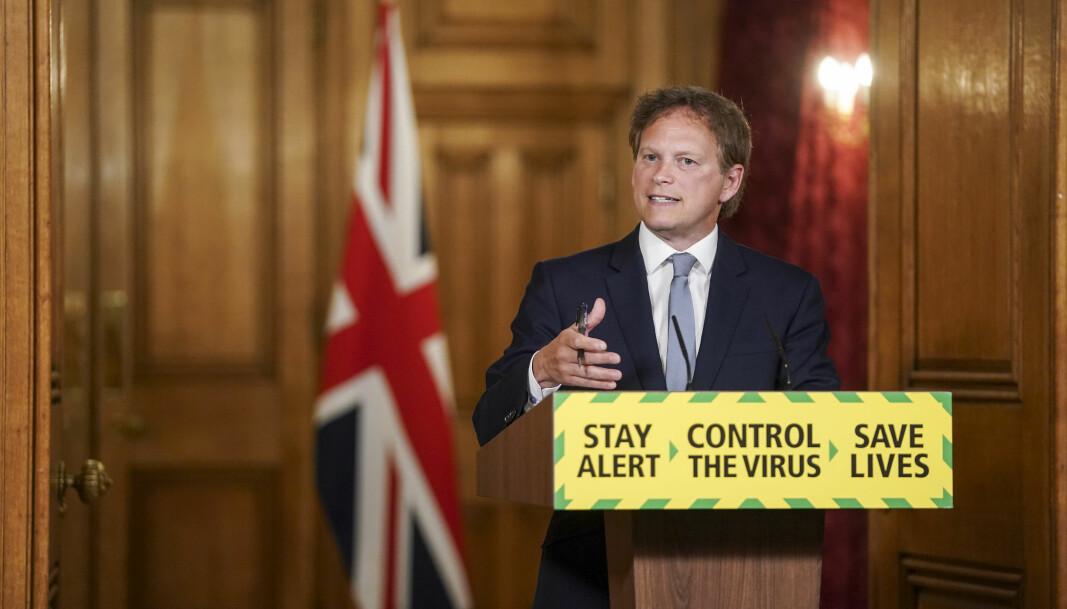 Storbritannias transportminister anklaget denne uken EU for å skade landets vaksinasjonsprogram ved å komme med «misledende» uttalelser som sår tvil om AstraZeneca-vaksinen.