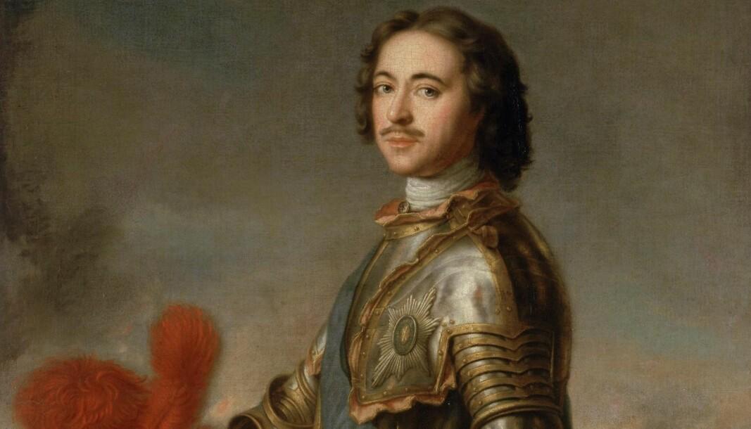 Som den første russiske hersker siden middelalderen reiste Peter den store til Europa.