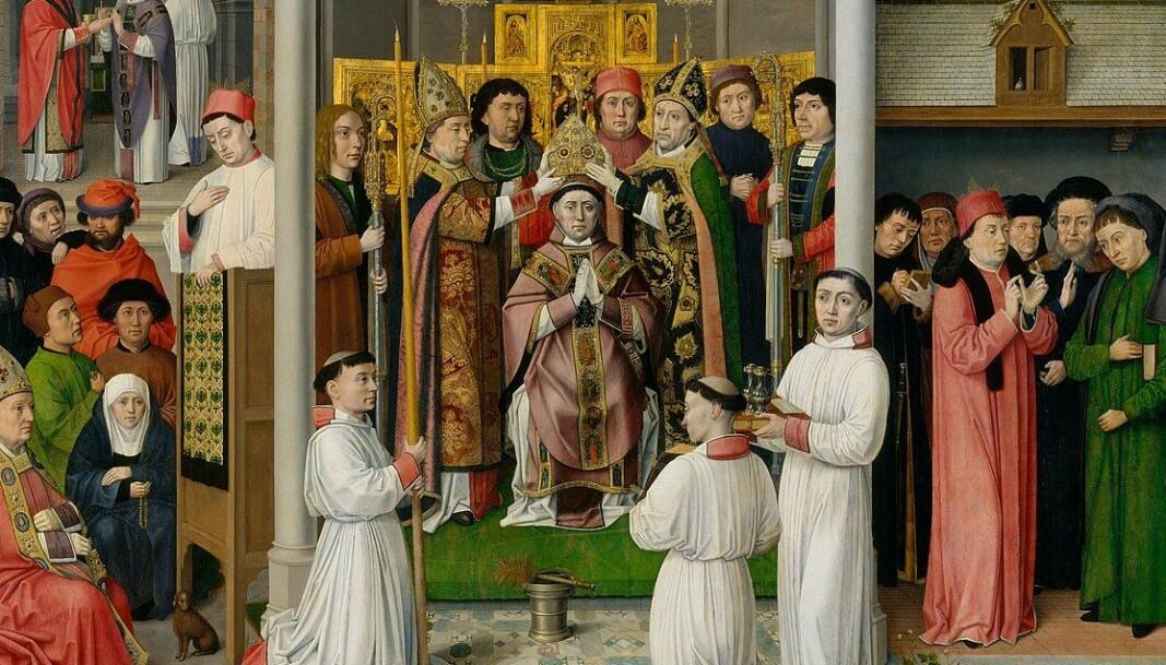 Mannen som senere skulle bli helgenen Sankt Augustin (bilde) skrev brev til pave Gregor 1. i 597 for å få klarhet i hvilke regler som gjaldt for giftermål. Svaret fra paven skulle få store konsekvenser for Vesten, ifølge forfatter Joseph Henrich.