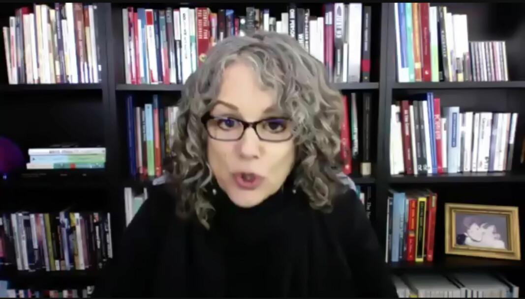 Forfatter og antirasist Robin DiAngelo tjener godt på mangfoldstrening. Hennes bok «White Fragility» var den åttende mest solgte på Amazon i 2020.
