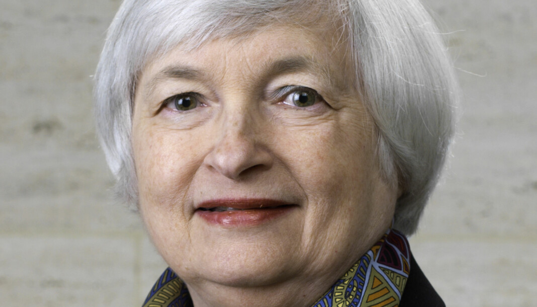 USAs finansminister Janet Yellen.