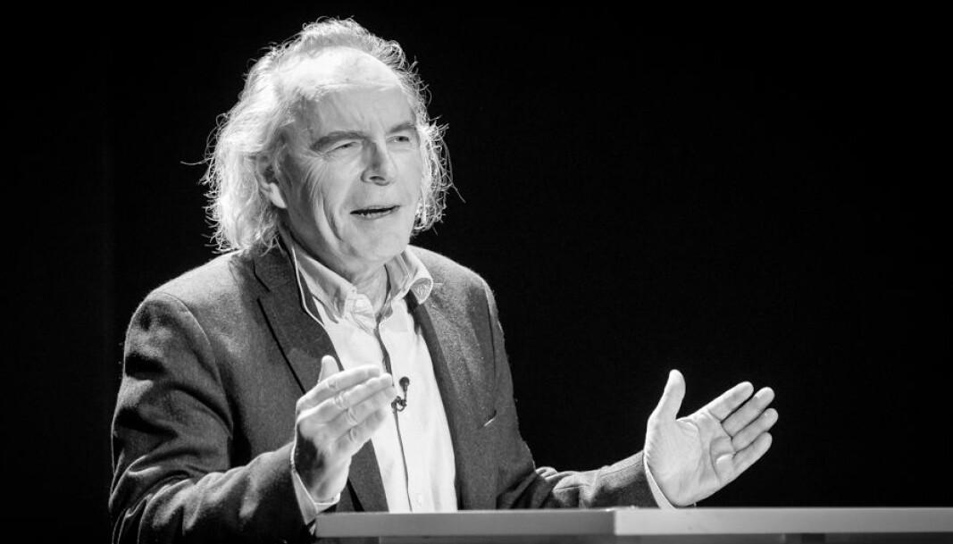 Foredrag om «Det internasjonale gjennombruddet» av Terje Tvedt.