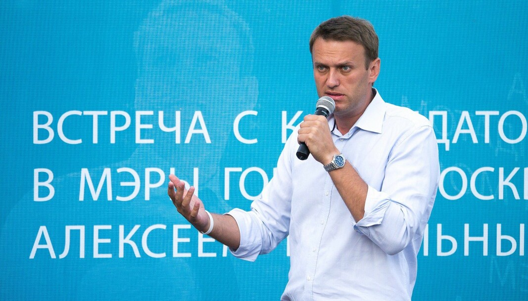 Den russiske dissidenten Aleksej Navalnyj soner for tiden en fengselsdom på to og et halv år. Han har sultestreiket siden 31. mars.