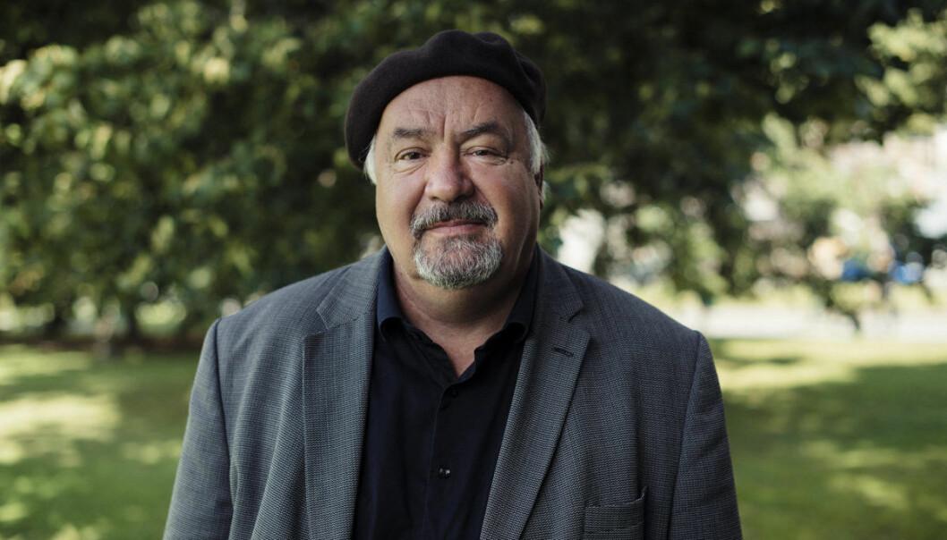 Forfatter og humorist Dagfinn Nordbø.