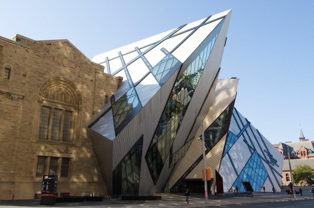 I 2007 åpnet tilbygget «Crystal» på Royal Ontario Museum i Toronto. Langt fra alle er enige om det ble en suksess.