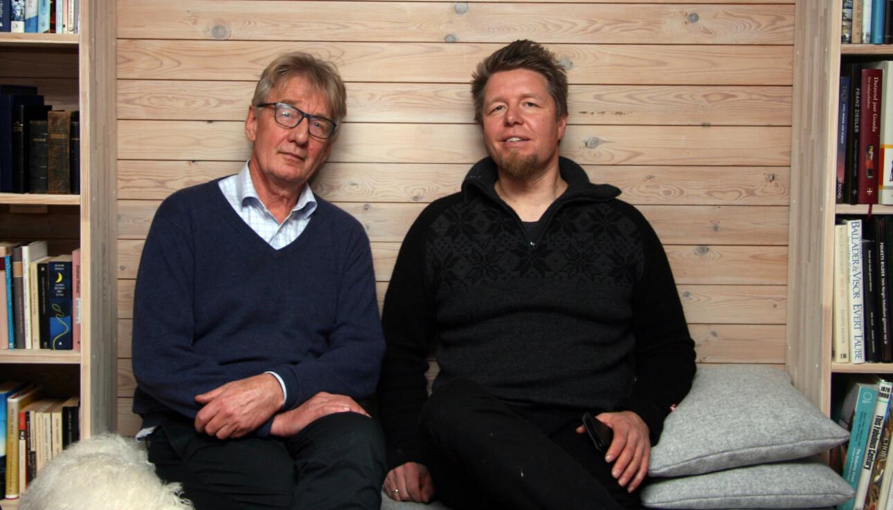 Lærerne Clemens Saers (t.v.) og Christer Rognerud (t.h.) opplevde begge at deres arbeidsgivere og Utdanningsforbundet sviktet dem, da de ble utsatt for vold og mobbing.