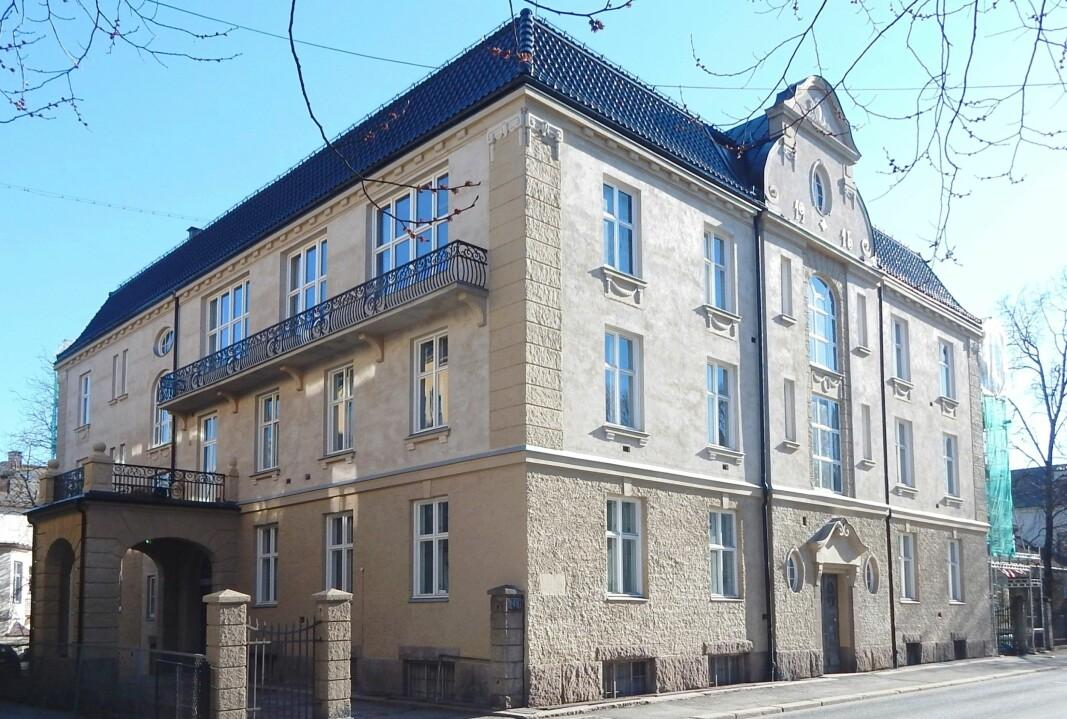 FAVORITTEN: Josefines gate 30 er Saher Sourouris favorittbygning i Oslo. – En elegant bygning som både er stillfaren og detaljrik samtidig.