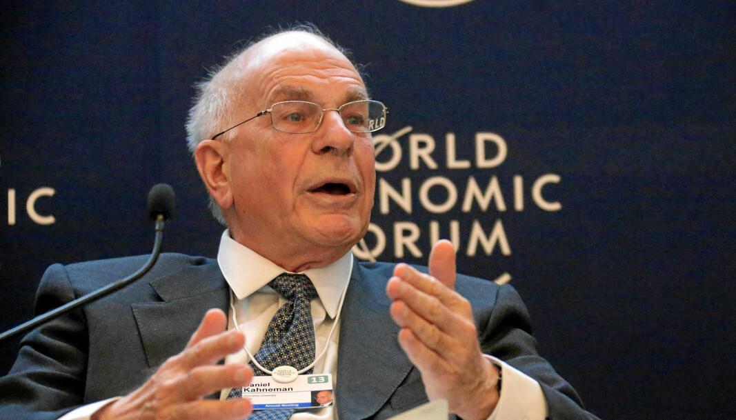 Daniel Kahneman er aktuell med <em>Noise</em>, skrevet med Olivier Sibony og Cass R. Sunstein.