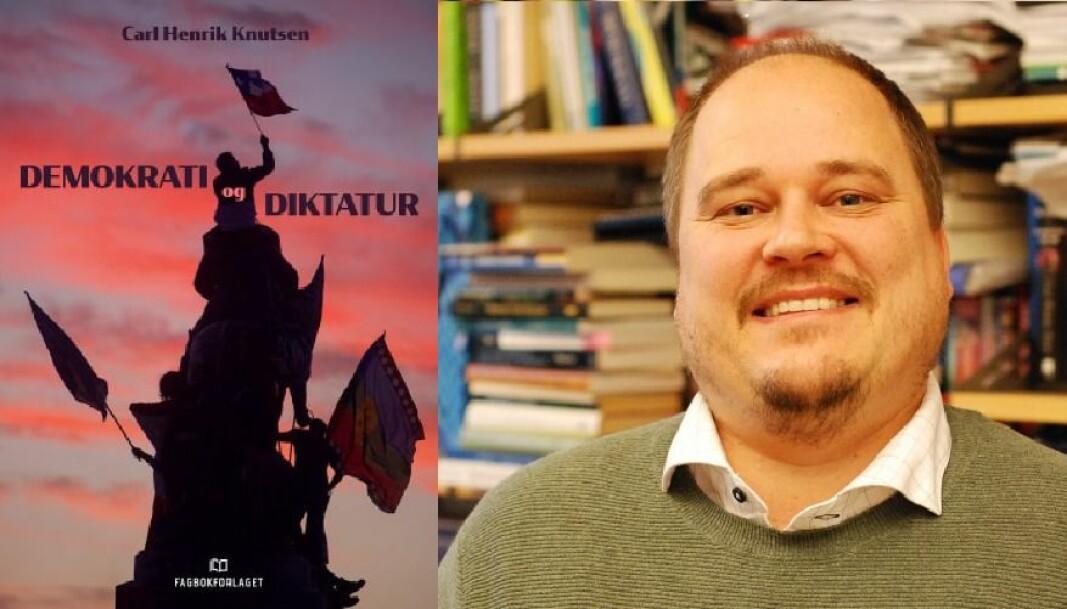 Carl Henrik Knutsen gir en oversikt for demokratiforskningen slik den står i 2021 med boken <em>Demokrati og diktatur</em>.