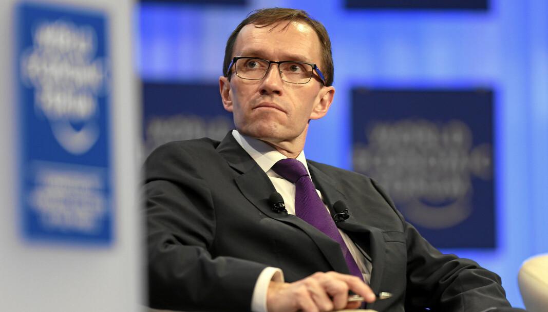 NULL LIKES: Oppfordringen om å dele info for å svekke tidligere utenriksminister Espen Barth Eide i WhatsApp-gruppen «Politikk» fikk hverken likes, respons eller støtteerklæringer fra andre gruppemedlemmer.