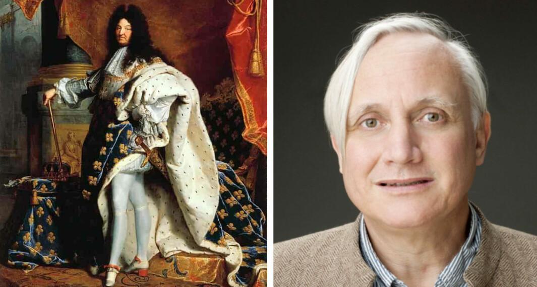 """I våre øyne kledde Ludvig XIV seg feminint. Men hvor feminint var det egentlig i <span class="""" italic"""" data-lab-italic_desktop=""""italic"""">samtidens</span> øyne?"""