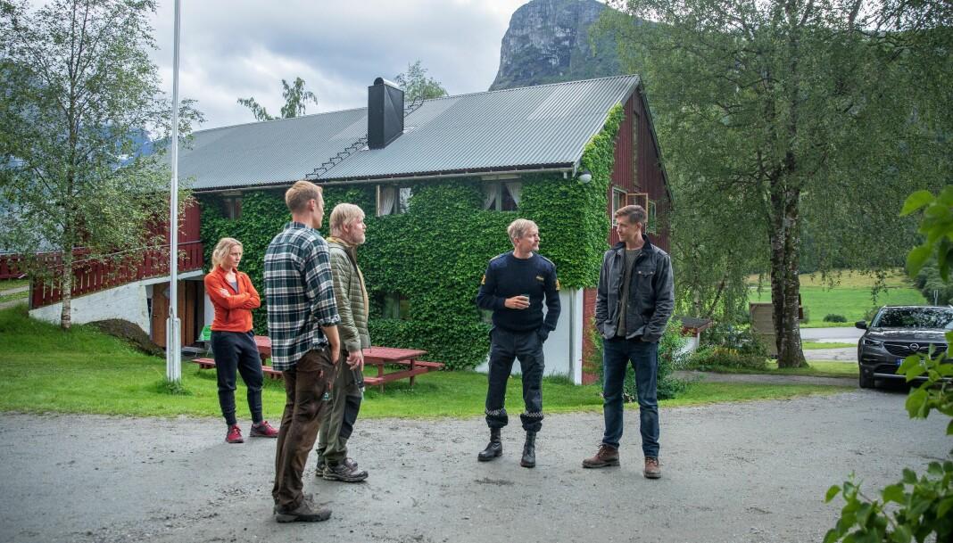Det er ting på gang i Åndalsnes.