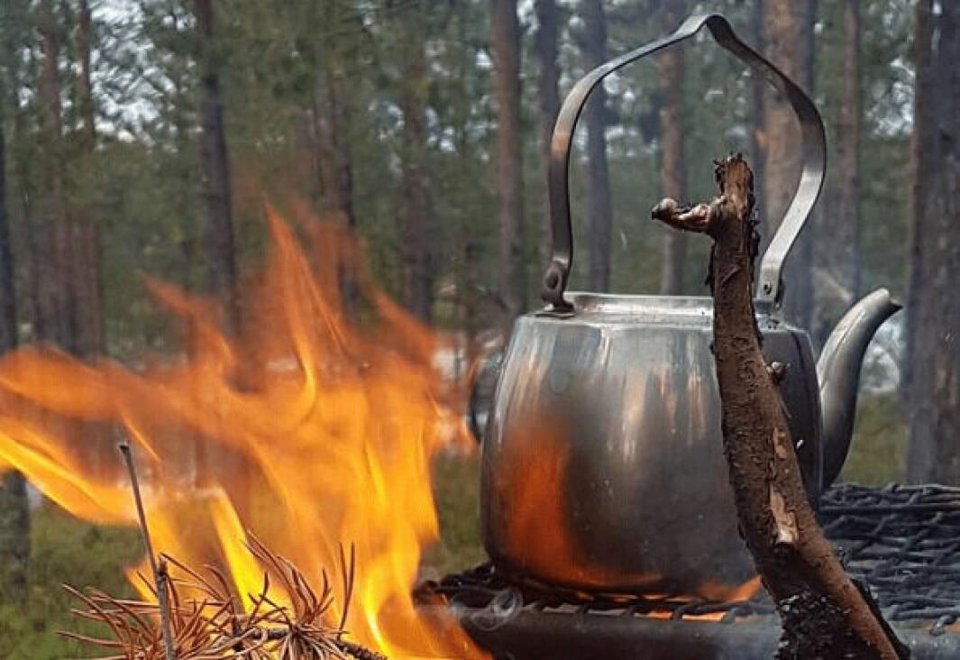 Bålkaffe, for primitivt og gammeldags?