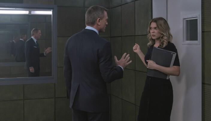 Dynamikken mellom James Bond (Craig) og Madeleine Swann (Lea Seydoux) har bygget seg opp over tid. Swann var også med i forløperen <em>Spectre</em>.