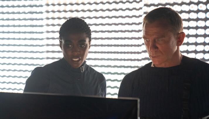 Nomi (Lashana Lynch) har overtatt tittelen 007 i <em>No Time To Die</em>.